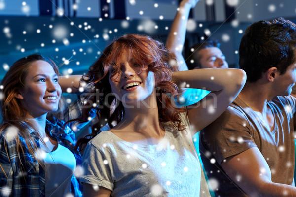 幸せ 友達 ダンス ナイトクラブ パーティ 休日 ストックフォト © dolgachov