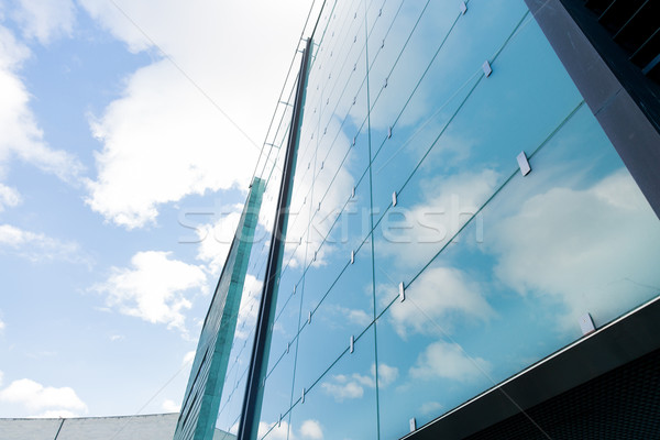 modern office building facade Stock photo © dolgachov