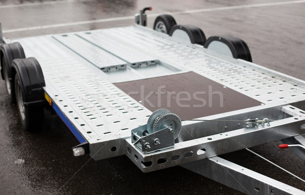 close up of trailer outdoors Stock photo © dolgachov
