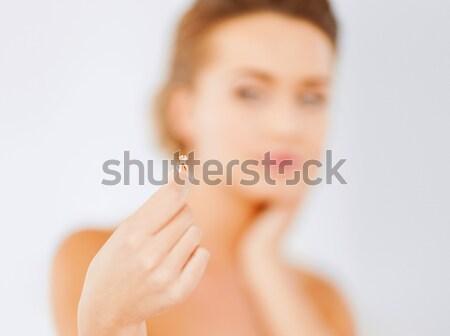 Imagine de stoc: Femeie · frumoasa · inel · cercel · farmec · frumuseţe