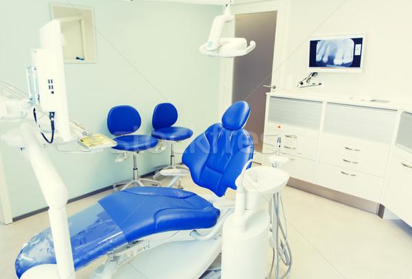 Belső új modern fogászati klinika iroda Stock fotó © dolgachov