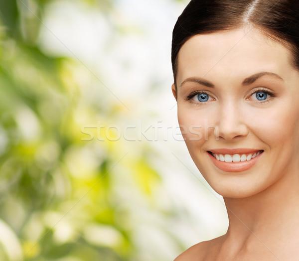 Stockfoto: Mooie · vrouw · gezondheidszorg · spa · schoonheid · gezicht · vrouw