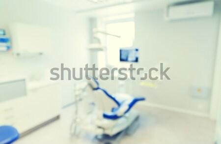 Zdjęcia stock: Zamazany · nowoczesne · stomatologicznych · kliniki · biuro · wnętrza