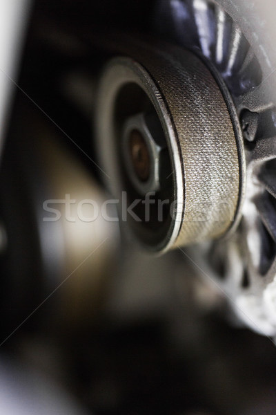 Máquina mecanismo industria industrial rueda Foto stock © dolgachov
