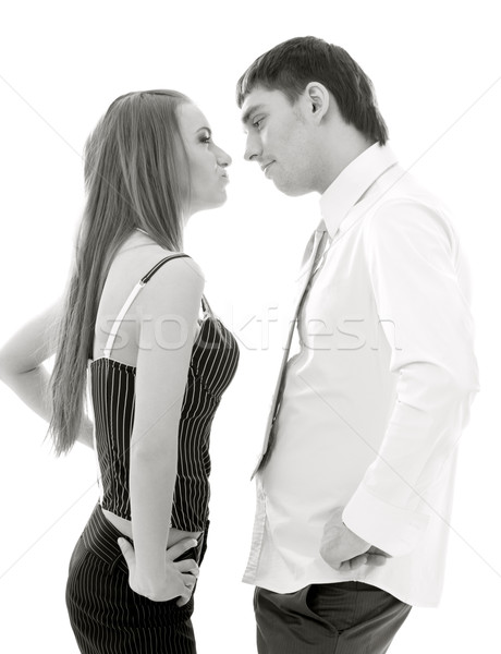 conflict Stock photo © dolgachov