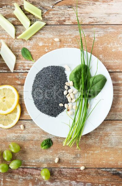 арахис мак семян Сток-фото © dolgachov