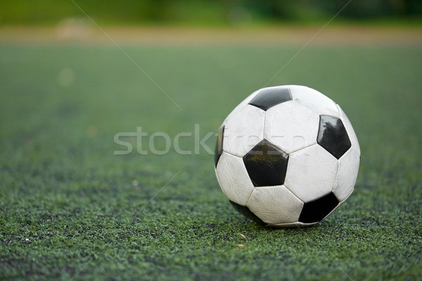Futballabda futballpálya sport futball játék labda Stock fotó © dolgachov