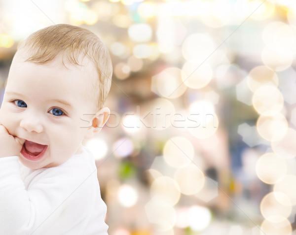 Photo stock: Adorable · bébé · garçon · enfant · personnes · bonheur