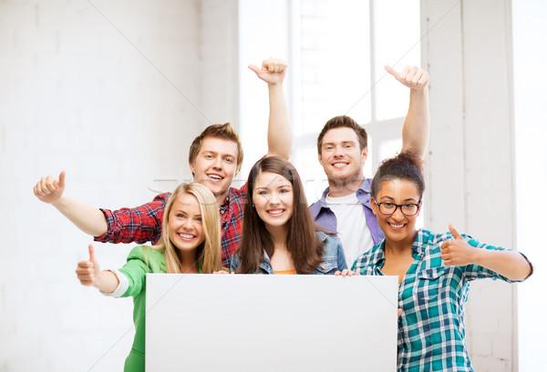 Stockfoto: Groep · studenten · school · boord · onderwijs