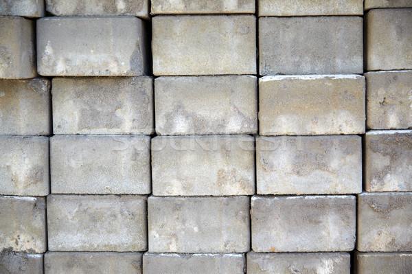 batch of bricks Stock photo © dolgachov