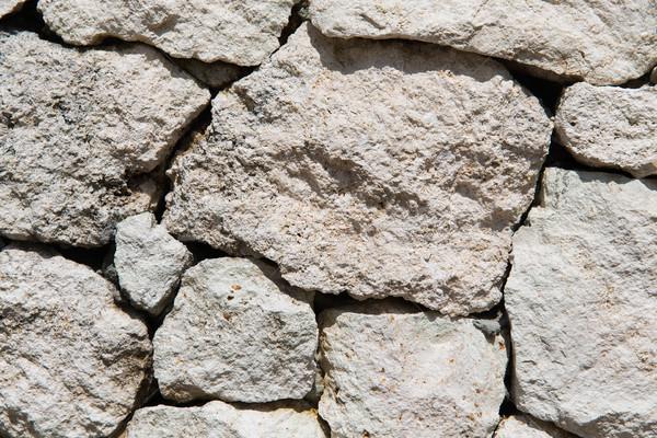 Muro de piedra textura albañilería construcción pared Foto stock © dolgachov