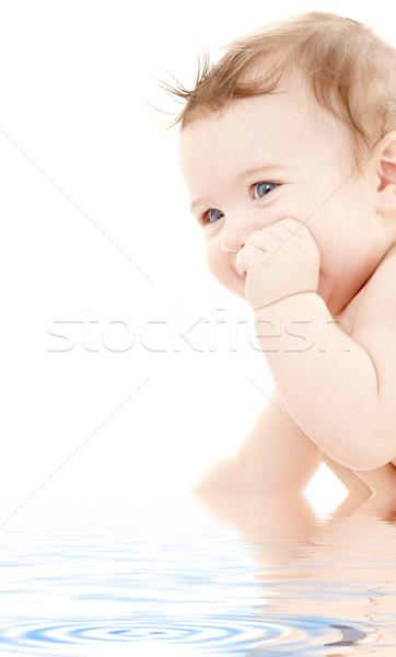 Stock photo: adorable baby