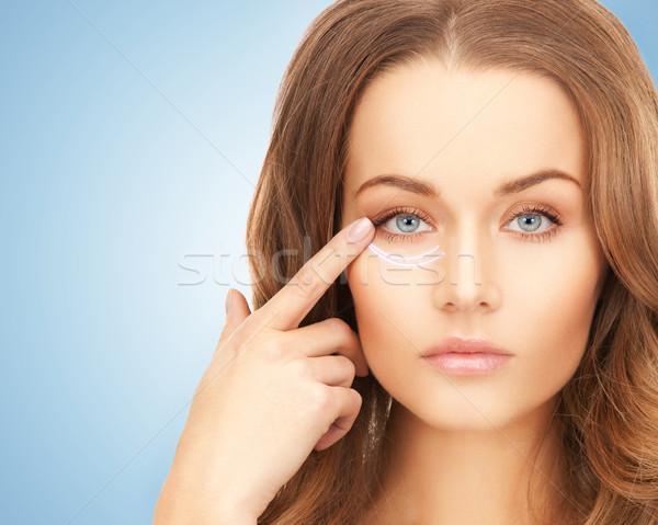 Faccia mani bella donna foto pronto chirurgia estetica Foto d'archivio © dolgachov