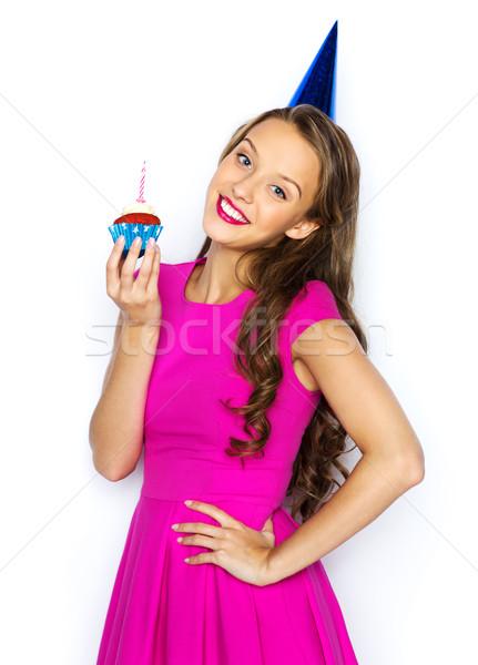 Zdjęcia stock: Szczęśliwy · kobieta · teen · girl · urodziny · ludzi