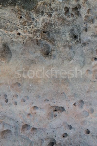 Alivio volcánico piedra textura diseno edificio Foto stock © dolgachov