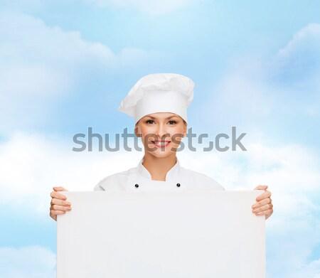 happy woman with white sarong on the beach Stock photo © dolgachov