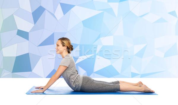 Friendly Dog Pose Yoga