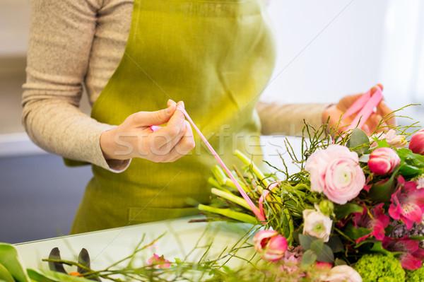 Zdjęcia stock: Kobieta · kwiaciarnia · ludzi