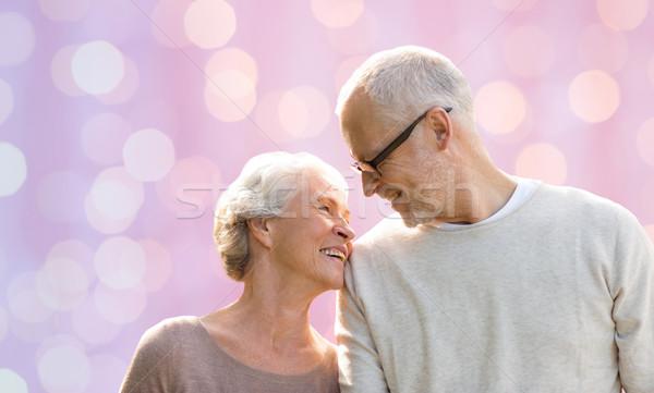 Gelukkig naar ander familie liefde Stockfoto © dolgachov