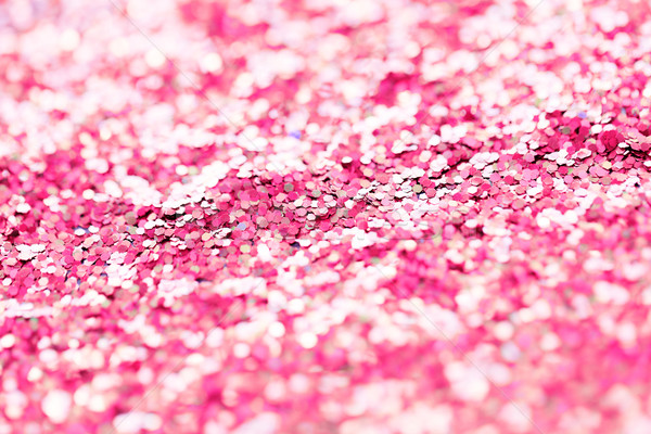 pink glitter or sequins background Stock photo © dolgachov