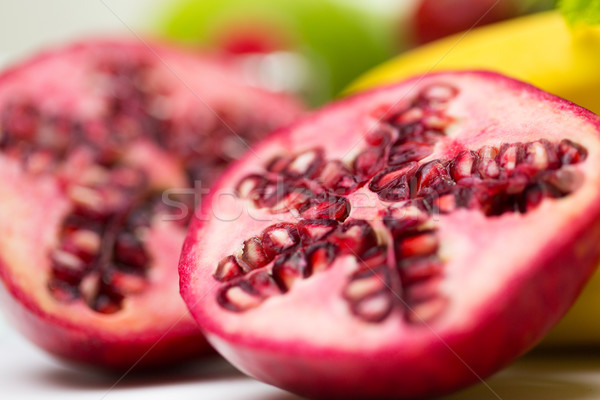 зрелый гранат другой плодов Сток-фото © dolgachov