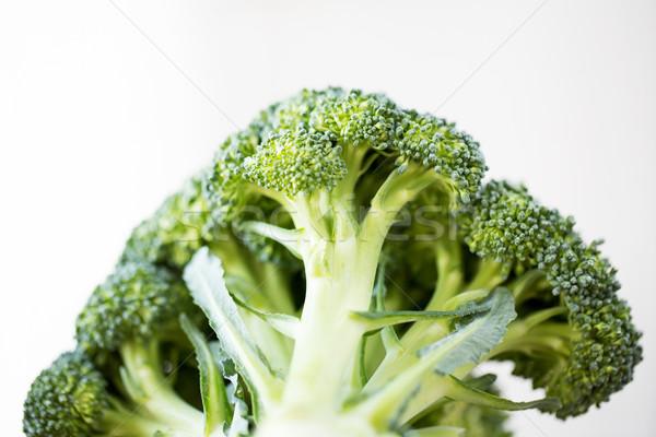 Brokkoli weiß gesunde Ernährung Ernährung Stock foto © dolgachov