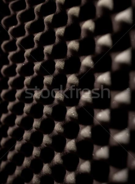 Schaum Gummi akustischen Material Materialien Textur Stock foto © dolgachov