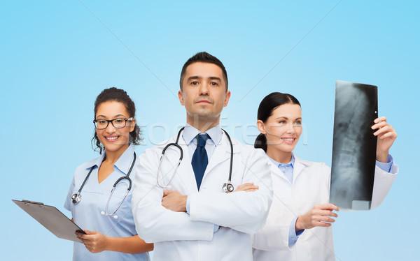グループ X線 手術 職業 人 薬 ストックフォト © dolgachov
