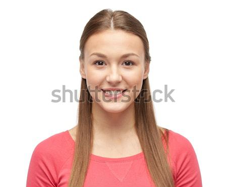 Sorridere pullover femminile genere Foto d'archivio © dolgachov