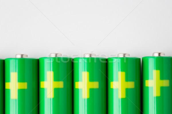 Verde riciclaggio energia potere Foto d'archivio © dolgachov