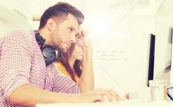 Oprogramowania wywoływacz biuro ostateczny termin startup Zdjęcia stock © dolgachov