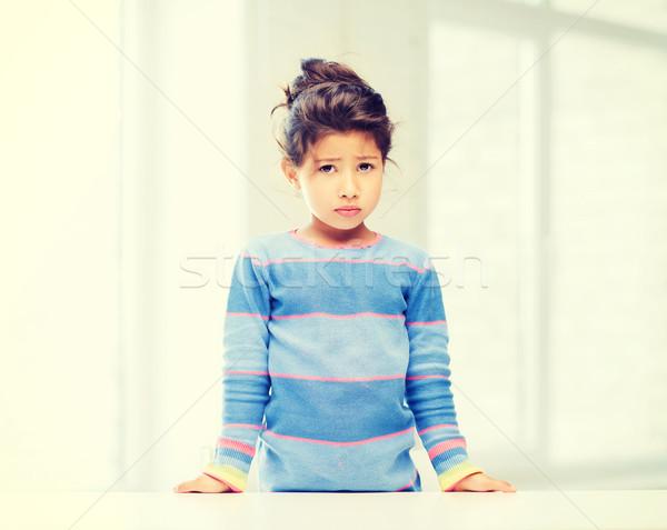 student girl at school Stock photo © dolgachov