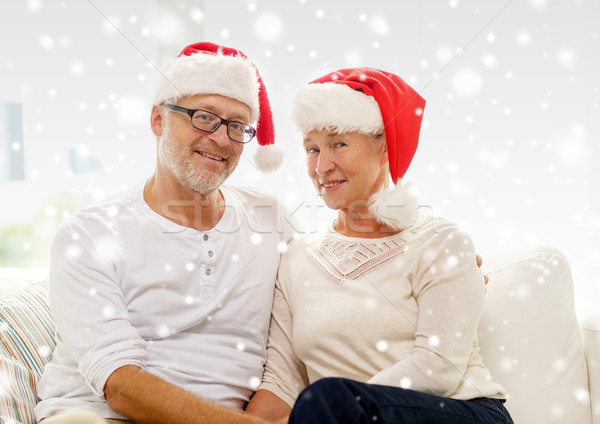ストックフォト: 幸せ · サンタクロース · ヘルパー · ホーム