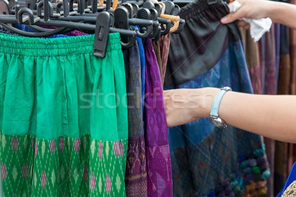 Mani strada mercato vendita Foto d'archivio © dolgachov