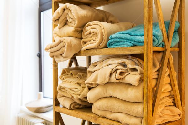 Stockfoto: Houten · rack · comfort · yoga · objecten