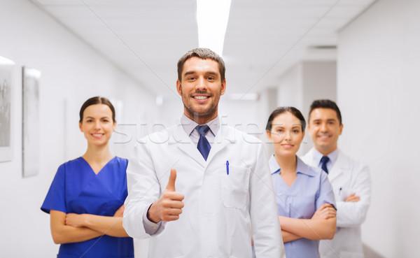 врачи больницу профессия люди Сток-фото © dolgachov