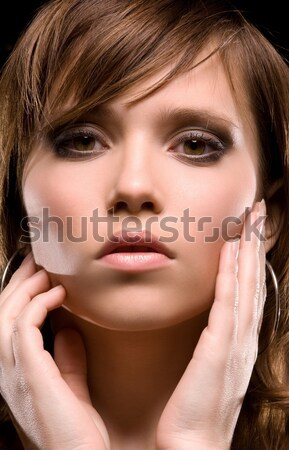 woman face Stock photo © dolgachov