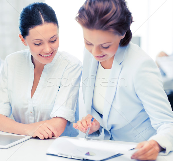 business team working in office Stock photo © dolgachov