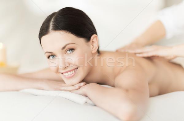 女性 スパ 画像 サロン 少女 ボディ ストックフォト © dolgachov