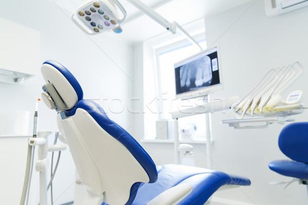 Interior novo moderno dental clínica escritório Foto stock © dolgachov