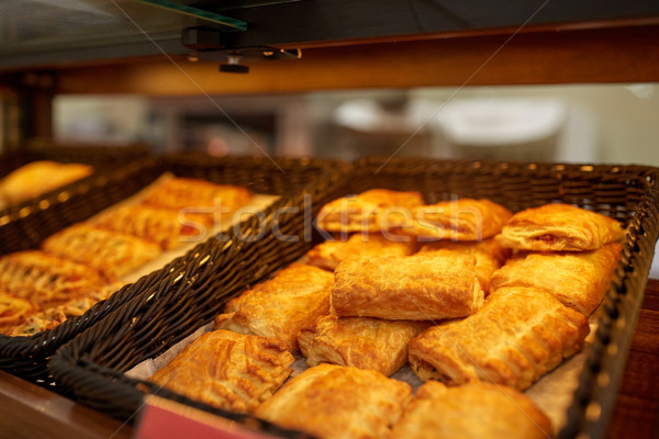 Placki piekarni sklep spożywczy żywności Zdjęcia stock © dolgachov