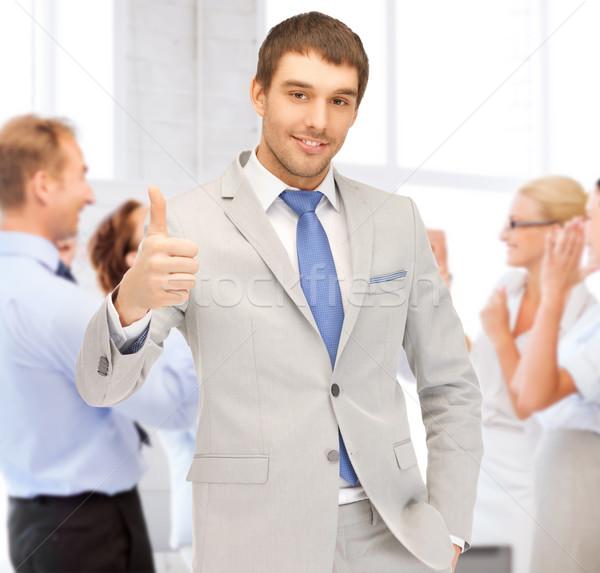 ストックフォト: ビジネスマン · オフィス · ビジネス · 成功
