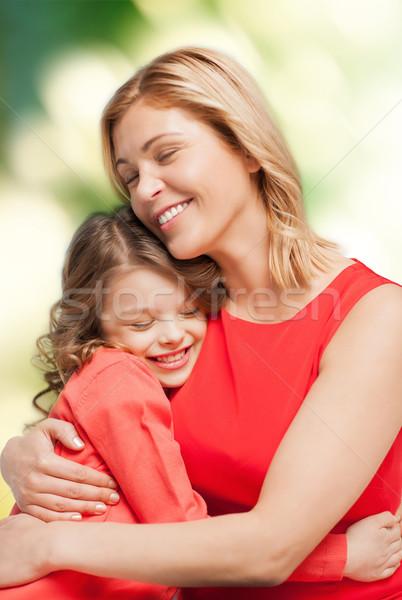 Zdjęcia stock: Uśmiechnięty · matka · córka · rodziny · dziecko