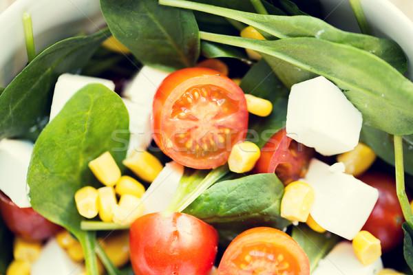 Vegetali insalatiera dieta vegetariano Foto d'archivio © dolgachov