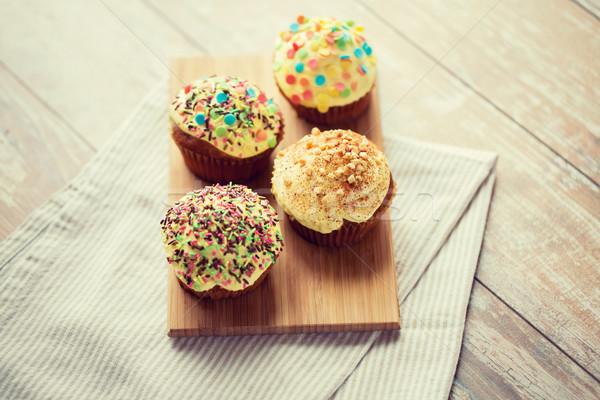 Mesa alimentos culinario Foto stock © dolgachov