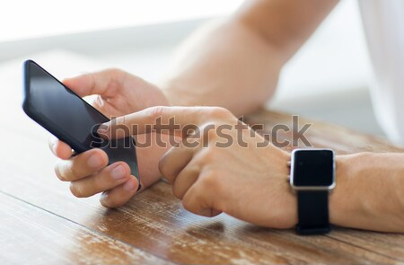 Közelkép nő készít vérvizsgálat gyógyszer cukorbetegség Stock fotó © dolgachov