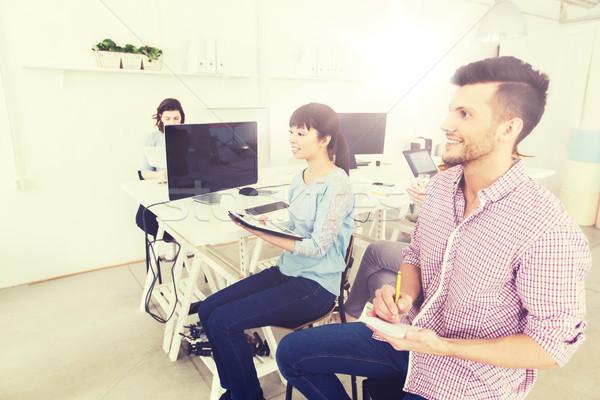 Creatieve team conferentie seminar kantoor business Stockfoto © dolgachov