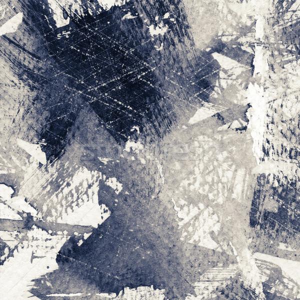 Textura grunge resumen grunge tinta textura papel Foto stock © donatas1205