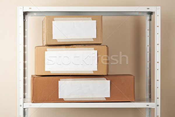 Cardboard boxes Stock photo © donatas1205