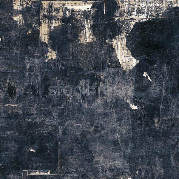 Textúra absztrakt tinta papír festék háttér Stock fotó © donatas1205